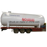 Do LPG do gás do Semitrailer três do eixo reboque do reboque Q370r 58.5cbm Semi