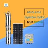 Bomba de água solar sem escova; Bomba de água solar da C.C. do motor Synchro