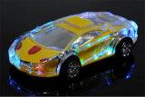 Altoparlante senza fili di Bluetooth degli indicatori luminosi dell'automobile di cristallo trasparente variopinta di Lamborghini