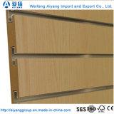 Ambiente de venda quente-friendly placa MDF/Slatwall Ranhurado
