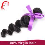 試供品のRemyのバージンの自然なアジア人間の毛髪の拡張