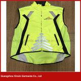 Maglia gialla fluorescente di nuova di disegno 2017 di buona qualità forza di sicurezza ciao per il motociclo (V34)
