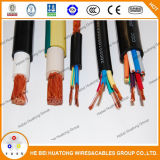 Fio do cabo flexível revestida de borracha com UL, TUV, certificado CE