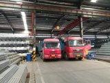 Tubo d'acciaio galvanizzato usando per la costruzione