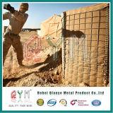 Mur soudé de Gabion de cadre de sable de cadre de Gabion pour l'empêchement d'inondation