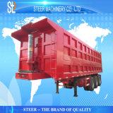 판매를 위한 트럭 트레일러를 반 내버려 60 톤 각자