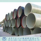 Più grande fornitore della Cina di vetroresina di FRP GRP che solleva tubo con il criccio