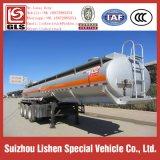 20000L Aanhangwagen van de Vrachtwagen van de Tanker van het Zwavelachtige Zuur van de Aanhangwagen van het roestvrij staal de Chemische Vloeibare Semi Corrosieve