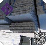 De lichtgrijze Witte Gevlamde Straatsteen van de Kubus van het Graniet G603