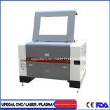 90W 9060 máquina de corte e gravação a laser de CO2 com Eixo Rotativo