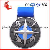 Zhongshan-Förderung-niedriger Preis der farbenreichen Fußball-Sport-Medaillen