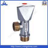 Válvula de Ângulo da tubulação de metal forjado para a Água (YD-5007)