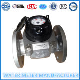 Type de Woltmann de grand diamètre mètre d'eau d'acier inoxydable Lxlc-50 dans la marque de Gaoxiang