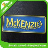 A borracha do vestuário do estilo da forma etiqueta o logotipo feito sob encomenda para o Sportswear