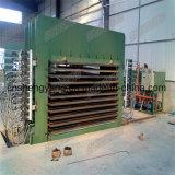 Máquina quente da imprensa camadas quentes curtas hidráulicas da máquina da imprensa da estratificação da melamina do ciclo das multi