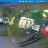 Grande sfera dell'acqua gonfiabile con la sfera ambulante dell'acqua gonfiabile materiale di TPU 01.0mm