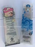 Nuevo Deisgn PVC transparente/PET/PP maquillaje cosmético Embalaje