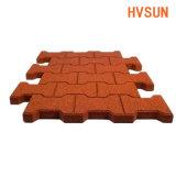 Hoog - Matten van de Vloer van de Bevloering van de dichtheid de Duurzame Rubber voor het Stootkussen van de Schommeling van het Huis