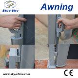 Jardin côté escamotable écran parasol aluminium auvent700-1 (B)
