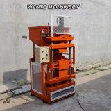Wante Maschinerie-halbautomatischer hydraulischer komprimierter Massen-Lehm-sperrende Ziegelstein-Maschine (WT1-10)