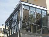 Metallo esterno usato retro Windows d'acciaio