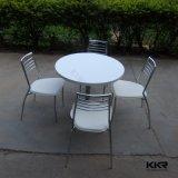 Todo branco Anti-Scratch altamente brilhante pequena mesa de café (180104)