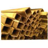 Soudés en acier inoxydable de haute qualité tube carré pour la décoration d'accueil