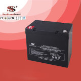 Загерметизированная свинцовокислотная батарея 12V55ah для фотовольтайческих панелей
