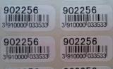 30W 50W de Automatische Optische Vezel die van het Etiket Machine merken