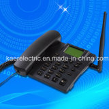 Teléfono sin hilos fijo de la tarjeta del doble SIM del G/M