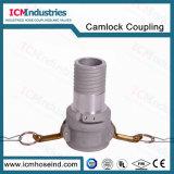 알루미늄 정전기 방지 일폭 유형 C 합성 호스 연결관