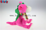 """الصين صاحب مصنع لون قرنفل يحشى دينصور لعبة حيوانيّ مع وشاح في 10 """" [سزبوس1199]"""