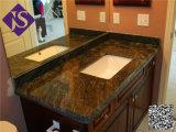 Moins cher décoratifs en pierre naturelle Cuisine & salle de bains Shanxi Comptoir de granit noir
