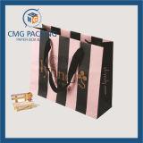Packging美しいカスタマイズされた縞によって印刷される装飾的な袋(CMG-MAY-033)