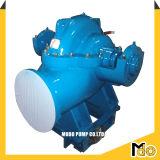 4 pouces de la pompe à eau Diesel avec remorque roues monté