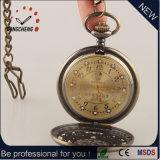 Leben-wasserdichte Pocket Uhr-Legierungs-Kasten-Uhr (DC-221)