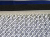 Papel de filtro de fibra de vidrio de 0,5 Um profundo del plisado HEPA