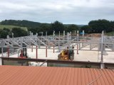 Telhado do pavilhão da construção de aço de Xgz