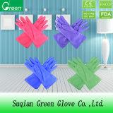 Дешевые покрашенные очищая перчатки домочадца