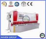 Machine de tonte de massicot hydraulique de la commande numérique par ordinateur QC11K-6X2500, machine de découpage de plaque en acier