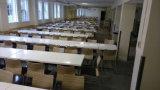 Conjunto de mesa de superfície sólida de mobiliário de cantina de escola secundária (FOH-RFST1)