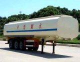 반 BPW 차축 공기 현탁액 세 배 차축 디젤 엔진 탱크 트레일러