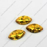 Pujiang Factory Point Piombo-libero Back Wholesale Fancy Gemstone per Jewelry Accessories