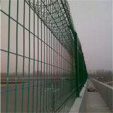 PVC поставкы фабрики покрыл загородку сваренную обеспеченностью