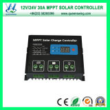 MPPT 30A 12/24V Solar Panel Battery Charger Controller (QW-MT30A)