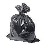 Low Price HDPE/LDPE plastics Garbage/Trash/Rubbish Refuse Bag on roll