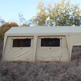 Personalizzare la tenda di campeggio solare della tenda di campeggio della famiglia della tela di canapa
