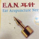 Ago di vendita caldo di agopuntura dell'orecchio dell'oro per medico cinese