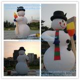 Aufblasbarer Schneemann für Weihnachtsdekoration