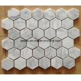 Verschiedene Entwurfs-weißes Marmormosaik für Dekoration